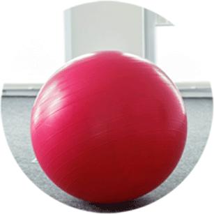 Gymnastikball Indoor Training